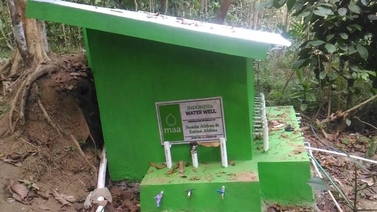 YWMI bantu Desa Burat